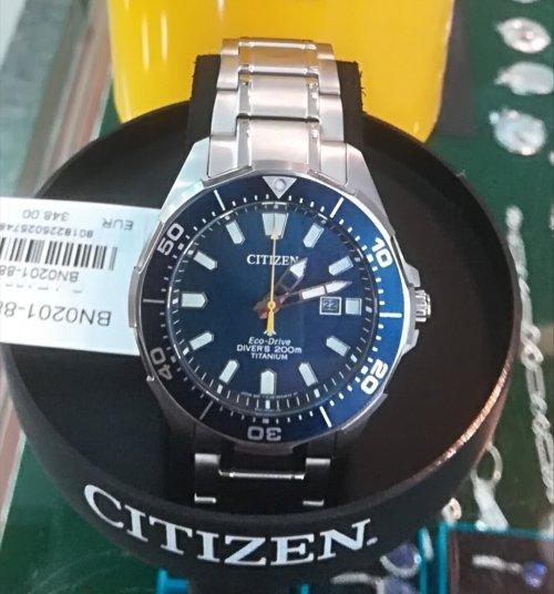 Citizen Promaster Eco Drive BN0201-88L