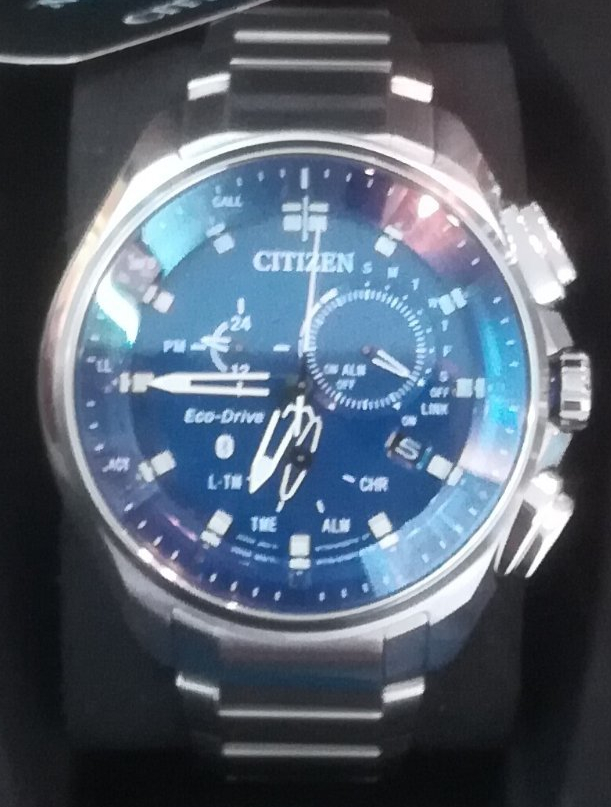 citizen eco drive con bluetooth