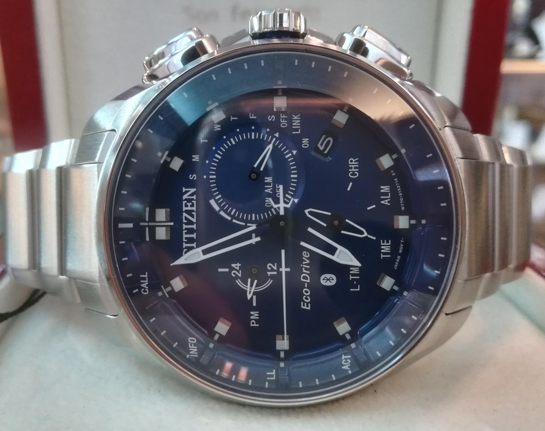Nuevo Reloj Citizen Bluetooth Acero